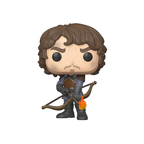 Funko - Pop! TV: Game of Thrones - Theon w/Flaming Arrows Figura Coleccionable, Multicolor (44821)