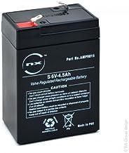 NX – Batterie plomb AGM S 6V-4.5Ah 6V 4.5Ah T1 – Unité(s)