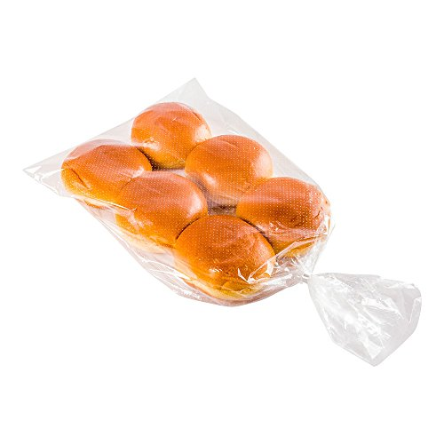 Bag Tek 11 Inch x 20 Inch Bread Bags, 250 With Wicket Dispenser Bread Loag Bags - Mirco Perforated, Freezer Safe, Clear Plastic Baugette Bags, Disposable - Restaurantware