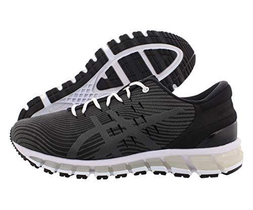Asics Gel-Quantum 360 4 - Zapatillas de correr para hombre, Negro (Negro/Gris oscuro), 40.5 EU