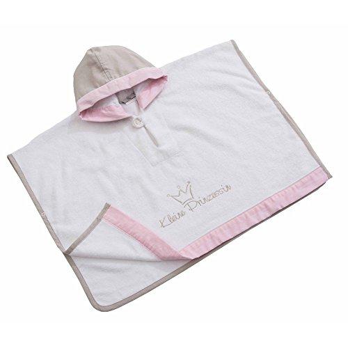 Be Be's Collection 550-60 Poncho mit Kapuze Prinzessin neu rosa