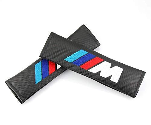 TGH (C-M) Kit de 2 Almohadillas M Motorsport para cinturón