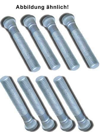 DTSline Rändelbolzen Set (8Stk.) M12x1,5 Länge: 60mm / RD: 13mm / RL: 7,6mm