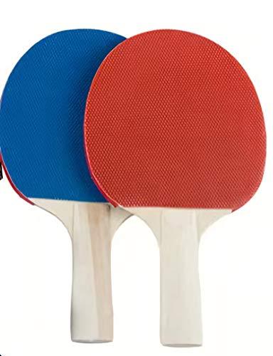 Mesa de tenis de mesa portátil con marco de red retráctil Raqueta de tenis de mesa de madera con control de velocidad avanzado y función de rotación Juego de raquetas de juego para interiores