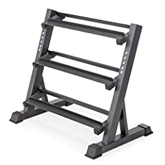 HEAVY-DUTY WELDED CONSTRUCTION – Keep all of your weights secure at all times with the Marcy DBR-86 Dumbbell Rack. Made from commercial-grade steel, its durable frame can withstand heavy loads while resisting damage from intensive use over time. DURA...