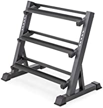 Marcy 3-Tier Dumbbell Rack Multilevel Weight Storage Organizer for Home Gym DBR-86