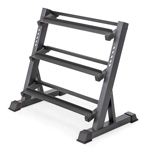 Marcy 3-Tier Dumbbell Rack Multilevel Weight Storage...