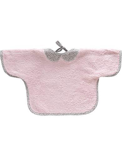 Bavoir Bébé à Manche Doublé 420gr/m² CLAUDINE - Sensei La Maison du Coton