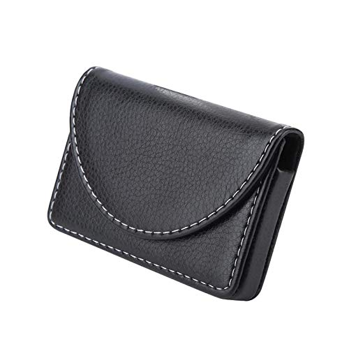 Credit Card Holder, Portable Lightweight Business Name Card Holder, for ID Cards Note Cards(black)