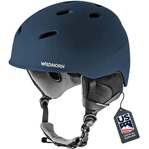 Wildhorn Drift Snowboard & Ski Helmet - Unisex Performance Snow Sports Helmet w/Adjustable Ventilation