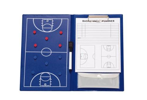 Rucanor 12217 - Pizarra magnética para Entrenador de Baloncesto, Color Azul