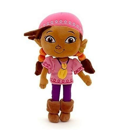 Lsmaa Juguetes de Peluche Jake y The Neverland Pirates Llish Girl Lzzy Doll Toy 30cm Relleno Suave Niños Juguetes Muñecas for niños Niñas