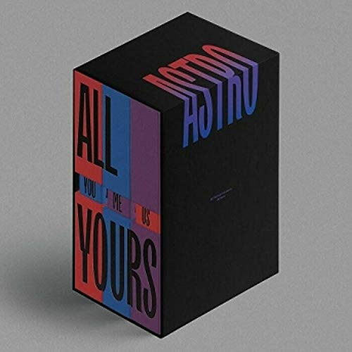ASTRO [ ALL YOURS ] 2nd Album [ YOU + ME + US] LIMITED 3Ver FULL SET(Sleeve Case Set). 3 CD+3 Photo Book(each 104p)+3 Accordion Post Card(each 6p)+3 Message Card+etc K-POP SEALED+TRACKING CODE