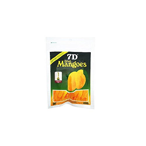 New Export Quality Dry Fruit, Delicious 7D Dried Mangoes Snack x 10pcs