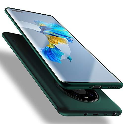 X-level für Huawei Mate 40 Pro Hülle, [Guardian Serie] Soft Flex TPU Hülle Superdünn Handyhülle Silikon Bumper Cover Schutz Tasche Schale Schutzhülle Kompatibel mit Huawei Mate40 Pro - Grün