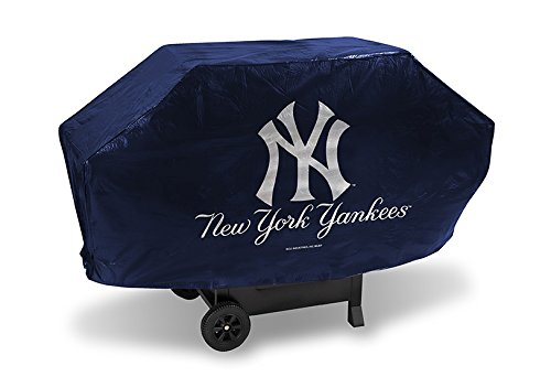 MLB New York Yankees Deluxe 68-inch Grill Cover