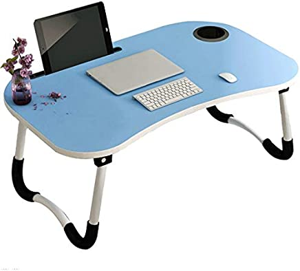 BJAB Laptop Desk,Small Bed Lazy Table,Breakfast Serving Tray Foldable Portable Multifunction,