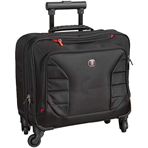 "SwissGear Interchange 17"" Wheeled Laptop Brief with Overnight Compartment (600600)"