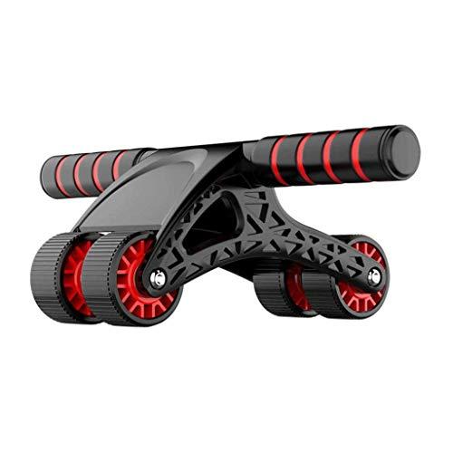 Hbao AB Roller Wheel per esercizio addominale automatico 4 ruote pieghevole addominali rullo per donne uomini addominali allenamento muscolare
