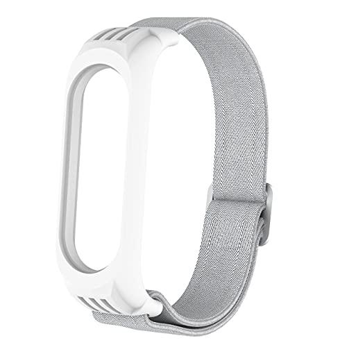 Correa de reemplazo para MI Banda 6 5 4 3 Nylon Elástico Deporte Muñeca Smart Watch Pulsera Accesorios (Color : 13, Size : For mi band 5)