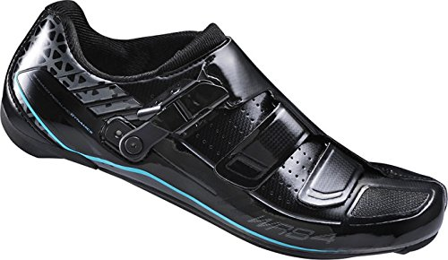 SHIMANO Women's Road Biking Shoes, Black, 38