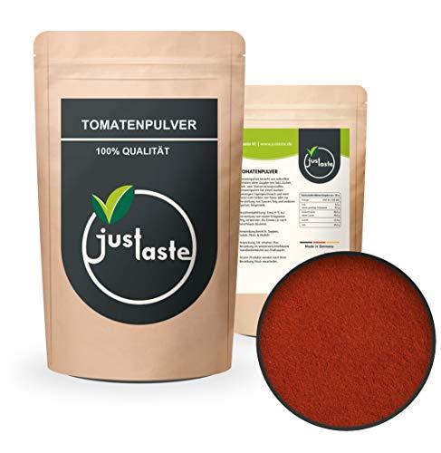 100 g GRÖßENAUSWAHL Tomatenpulver | Gewürz | getrocknet & naturbelassen | Pulver Tomate | Gemüsepulver … (100)