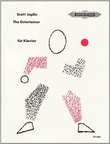 The Entertainer: Erleichterte Ausgabe / Für Klavier