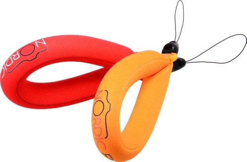 Nordic Flash Waterproof Camera Float - Pack of 2 - Red & Orange