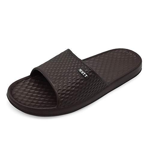 Hytt Shower Sandal Men Bathroom Slippers Non-Slip Indoor Home House Beach Shoes...