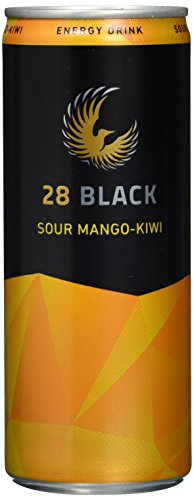 28 Black Sour Mango-Kiwi, 24er Pack, EINWEG (24 x 250 ml)