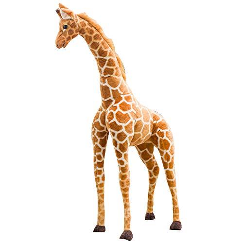 KingbeefLIU Simulation Girafe Animal en Peluche Peluche...