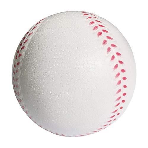Runtodo BéIsbol Deportivo BéIsbol de Impacto Reducido 10 Pulgadas Pelota Suave para Adultos y JóVenes para CompeticióN de Juegos Pitching Catching Training