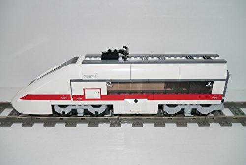 Gebrauchte Bausteine Ersatz für Lego System Lego RC Eisenbahn Train 7897 Lok Passagierzug Zug Lok + Motor Engine KOMPATIBEL MIT Lego RC System