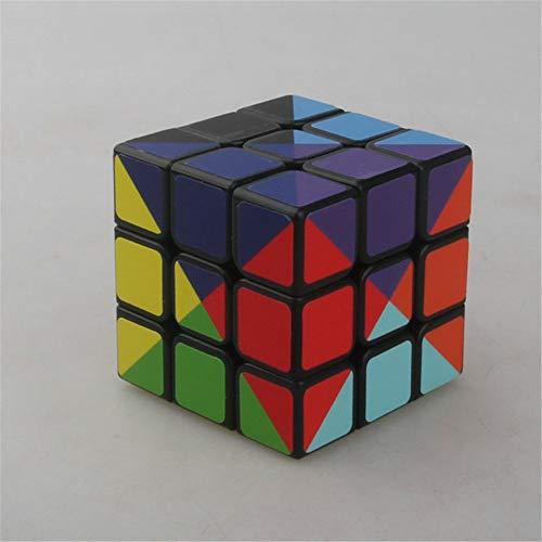 Doce Colores Cubo de Tercer Orden Patrón Especial Cubo de Tercer Orden Rompecabezas más desafiante Juguete Rompecabezas Cube Twist