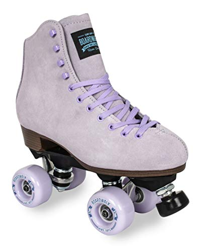 Sure-Grip Boardwalk Outdoor Skates (Lavender, Mens 6 / Womens 7)