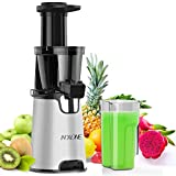 Juicer Machines,Slow Masticating Juicer Extractor Easy to Clean, Cold Press Juicer with quiet Motor/...