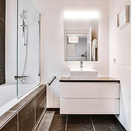 Espejo de Pared, Modelo Berlin baño, iluminación led Muy Potente. Tiene Unas Medidas de 60x80cm
