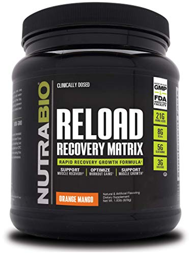 NutraBio Reload - 30 Servings (Orange Mango)