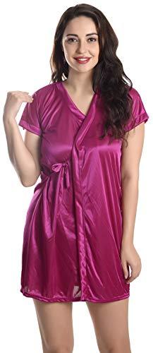 TWO DOTS Women's Nightdress (NWB031_Dark Pink_Free Size)