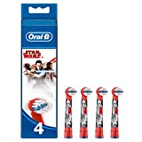 Oral-B Genuine Kids Stages Star Wars Replacement Red Toothbrush Heads, Refills for Electric