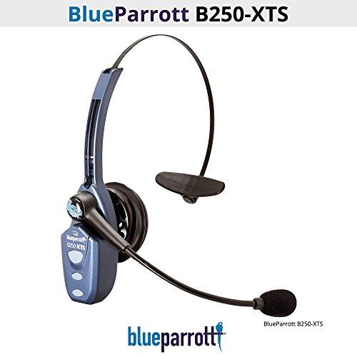 VXi BlueParrott B250-XTS (203100) Bluetooth Headset Micro USB Charging (Renewed)