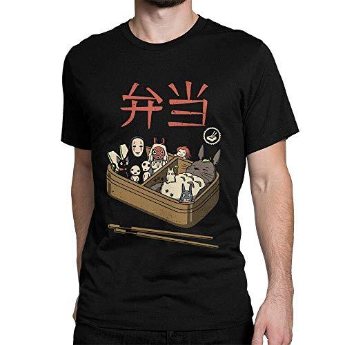 Studio Ghibli Funny Sushi T-Shirt, Princess Mononoke Spirited Away Totoro tee