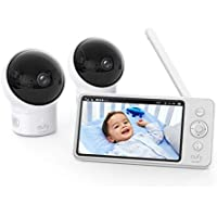eufy SpaceView Baby Monitor with Camera and Audio, 2-Cam Kit