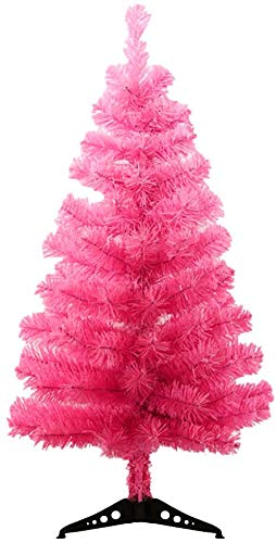 StillCool 2ft / 60cm Artificial Christmas Tree Christmas Party Home Decoration (Pink)-New
