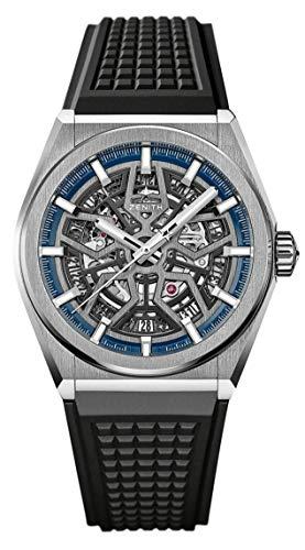 Zenith Defy 95.9000.670/78.R782 - Reloj de pulsera (titanio), color azul