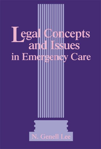 Legal Aspects of Emergency Care