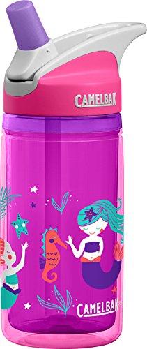 CamelBak Eddy Kids Insulated Bottle, Pink Mermaids, 12oz