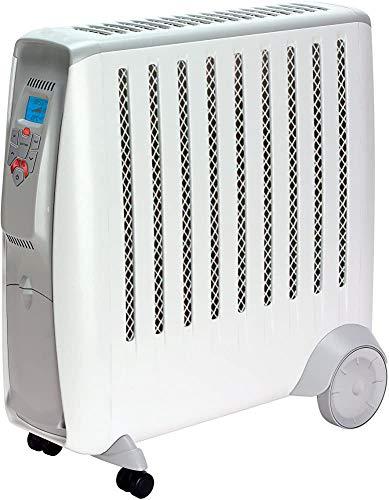 Climatizador independiente del termostato regulable portátiles radiadores eléctricos libres de aceite, que tienen dos ajustes de calor,2 kilowatts-No electronic climate control