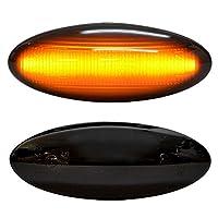 ファクトリーダイレクト LEDサイドマーカー ll-to-smf-sm02 スモークレンズ BELTA ベルタ (90系前期 H17.01-H20.08 2005.11-2008.08) サイドマーカー ウインカーランプ