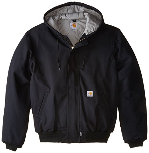 Carhartt Men's Big & Tall Flame Resistant Duck Active Jacket,Black,3X-Large